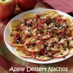 Ambrosia Apple Dessert Nachos