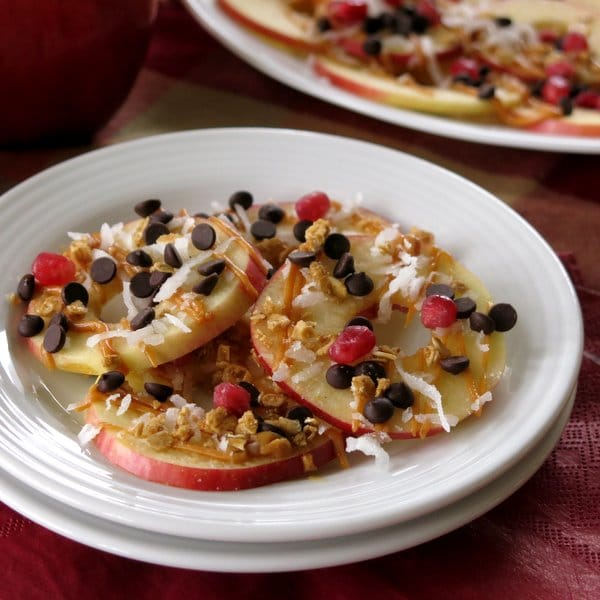 Apple Dessert Nachos Recipe