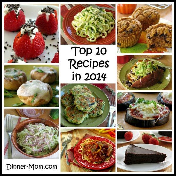 Top 10 Healthy Recipes in 2014