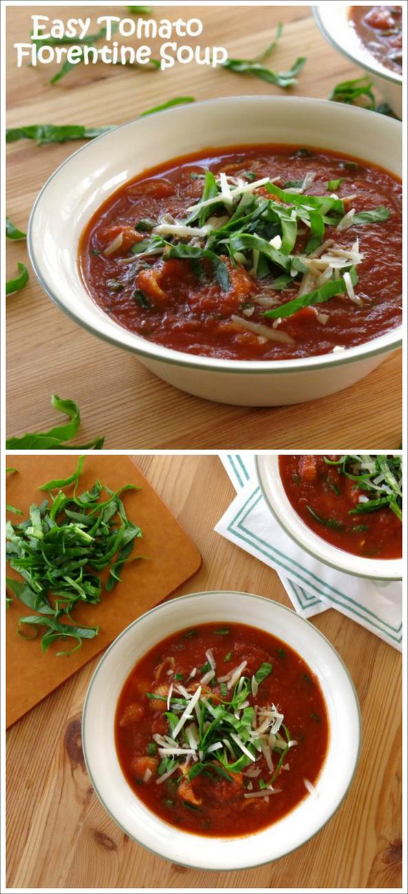 Easy Tomato Florentine Soup Recipes — Dishmaps
