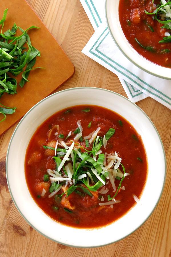 Tomato Florentine Soup Recipe
