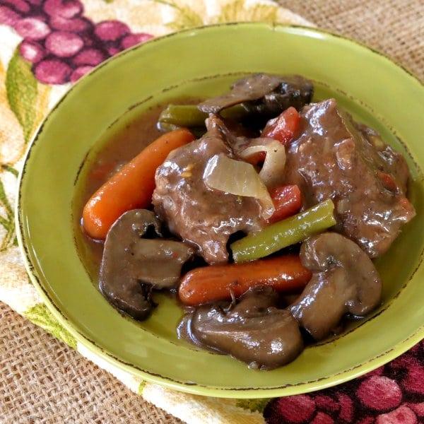 Crock Pot Beef and Vegetables