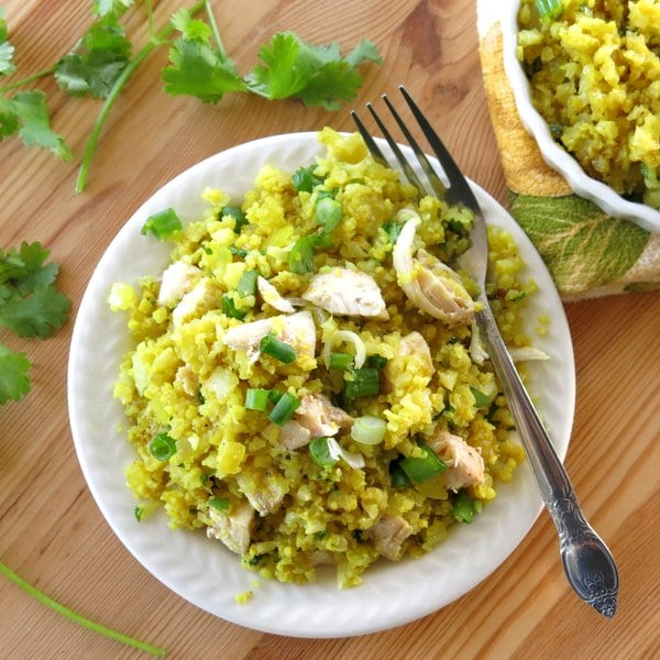 Curried Cauliflower Rice in Minutes - The Dinner-Mom