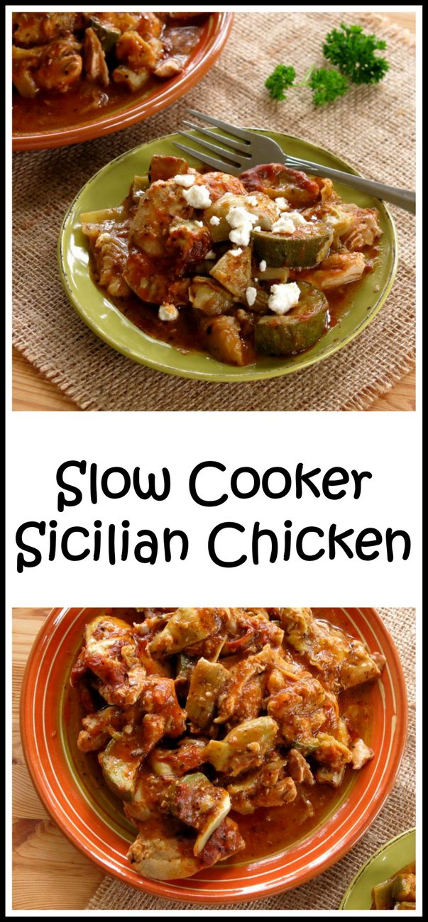 Slow Cooker Sicilian Chicken Recipe