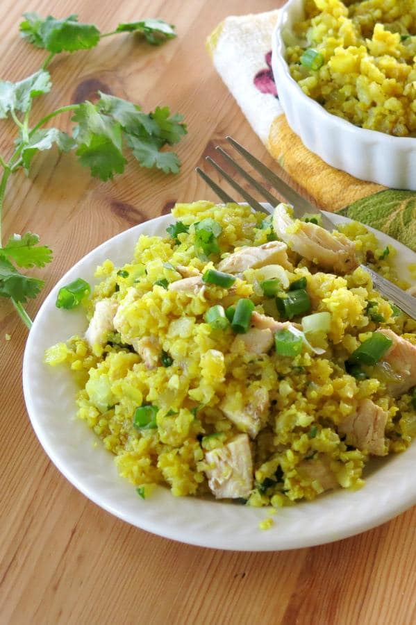Curried Cauliflower Rice Recipe