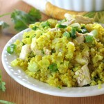 Curried Cauliflower Rice in Minutes