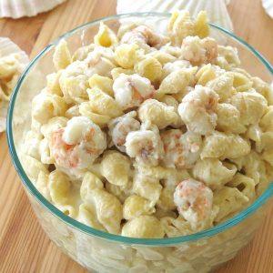 Bowls of Shrimp Mac and Cheese Recipe