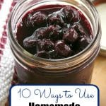 10 Ways to Use Blueberry Compote