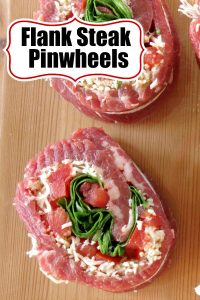 Flank Steak Pinwheels Pin