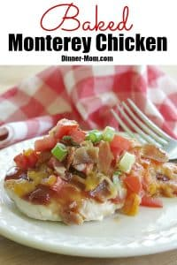 Baked Monterey Chicken Pin