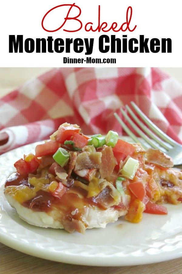 Baked Monterey Chicken Pin