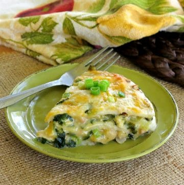 Layered Chicken Enchilada Pie Recipe