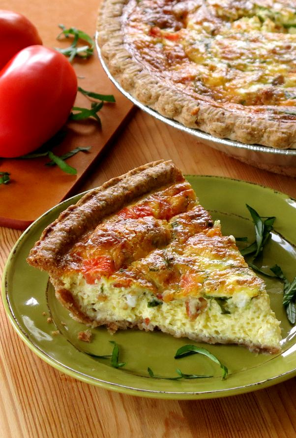 Bacon Tomato Quiche Recipe
