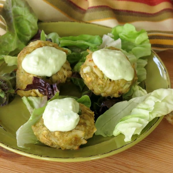 Baked Crab Cakes with Avocado Recipe