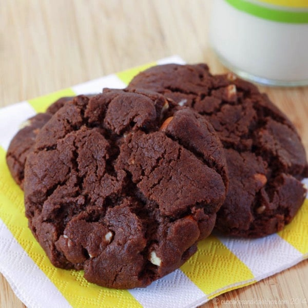 Flourless Chocolate Almond Cookies by Cupcakes and Kale Chips