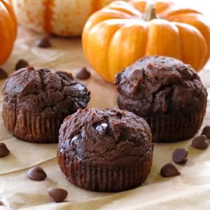 Healthy Chocolate Pumpkin Muffin Recipes