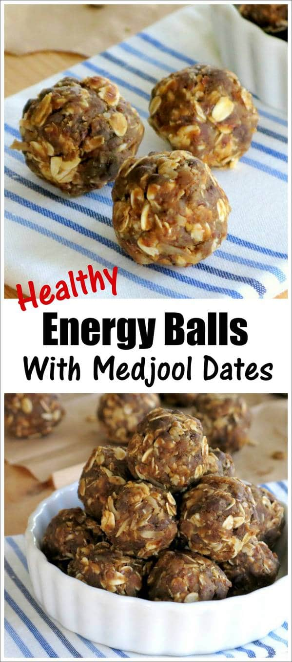 Energy Balls with Medjool Dates Recipe
