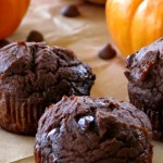 Healthy Chocolate Pumpkin Muffin Recipe