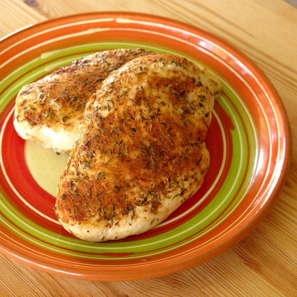 Blackened Chicken with a Touch of Honey Recipe