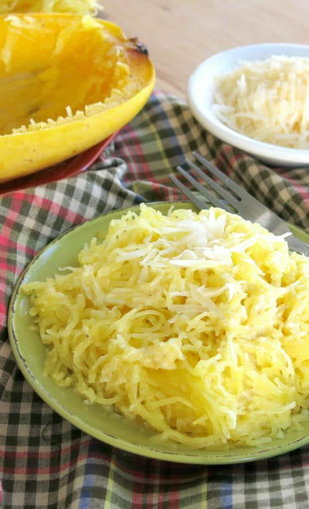Spaghetti Squash Alfredo Recipe