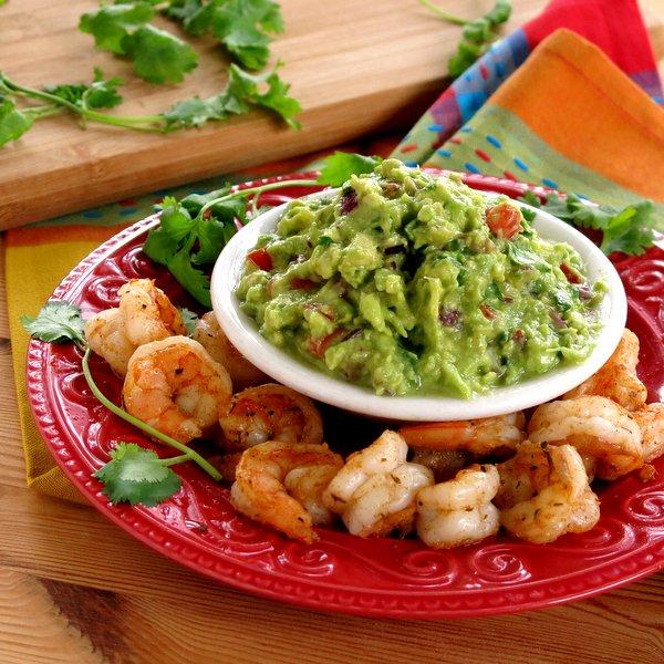 Cajun Shrimp Guacamole Dip Recipe