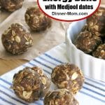 No Bake Energy Balls with Medjool Dates Pin