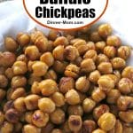 Crispy Buffalo Chickpeas Pinterest