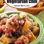 Healthy Vegetarian Chili Pinterest