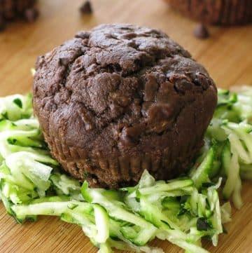 Easy Chocolate Zucchini Muffin Recipe