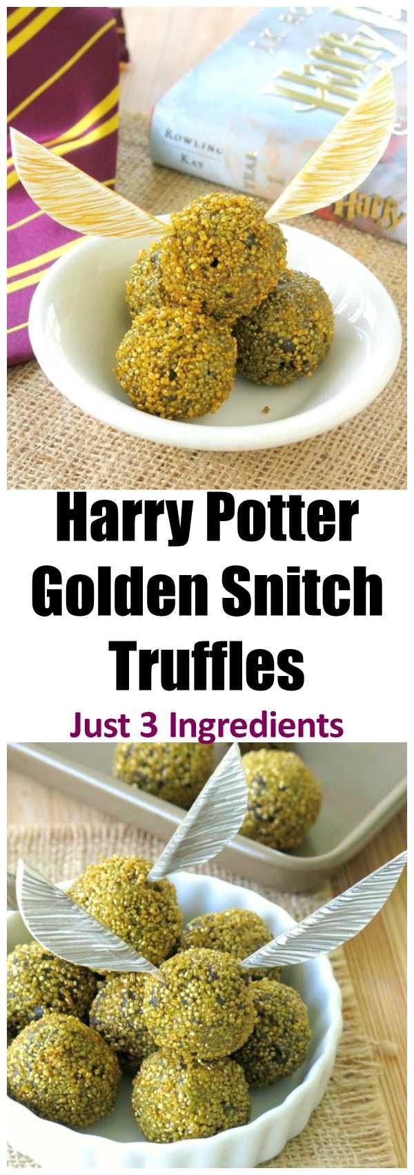 Golden Snitch Cake Recipe