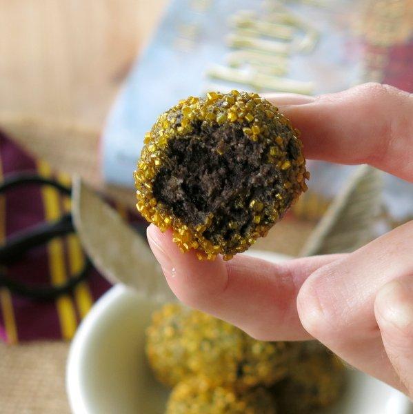 Harry Potter Golden Snitch Truffles Recipe