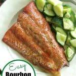 Bourbon Marinated Salmon pin