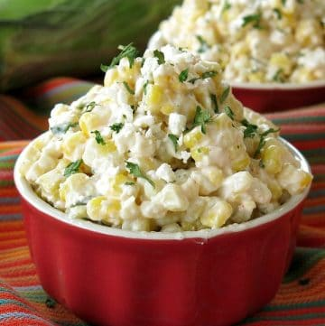 Mexican street Corn in a Cup Recipe