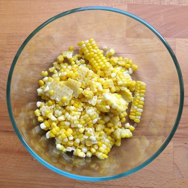 Fresh Corn Cut Off the Cob