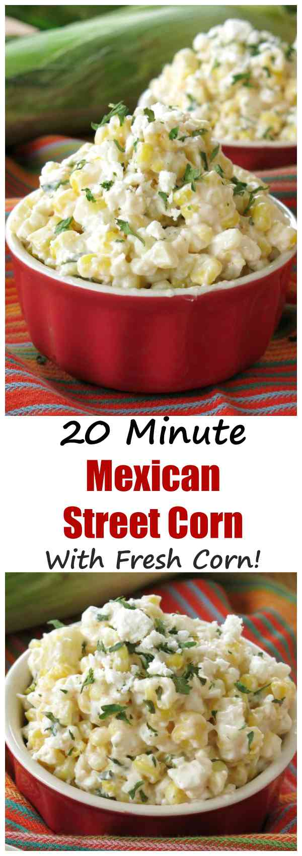 Mexican Street Corn in a Cup Recipe with Fresh Corn
