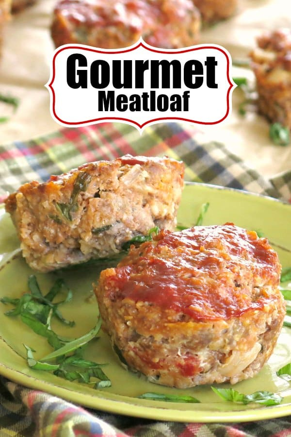 Gourmet Meatloaf with Mozzarella, Sun-dried Tomatoes and fresh basil takes meatloaf to a whole new level of comfort. Top-rated recipe from our Meal Assembly Kitchen that the entire family will love! #meatloaf #easydinner #freezeable