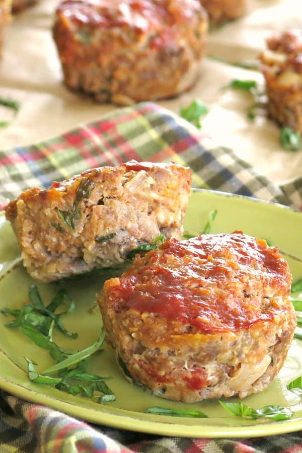 Gourmet Meatloaf Recipe on plate