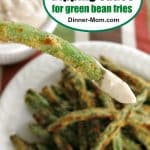 Yogurt Dipping Sauce for Green Bean Fries Pin