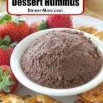 Brownie Batter Dessert Hummus