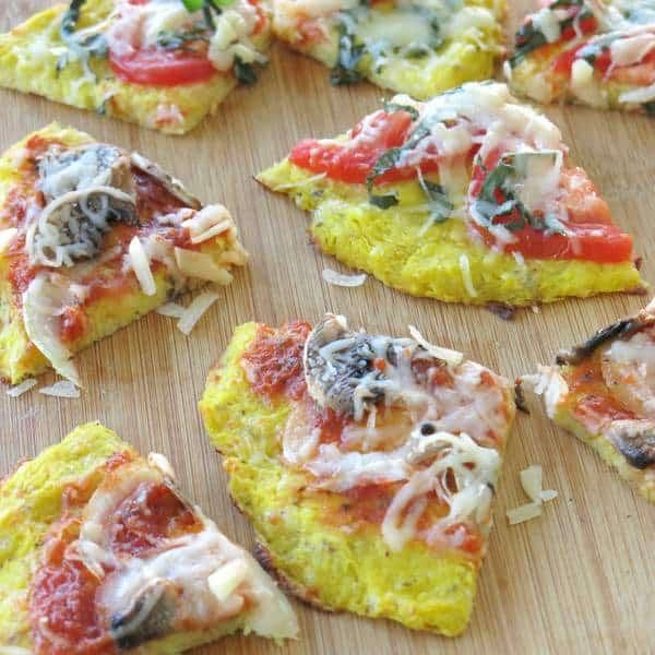 Spaghetti Squash Pizza Pie Recipe