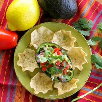 1 Avocado Guacamole Recipe