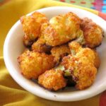 Crispy Cauliflower Bites in a bowl