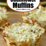 Easy Cauliflower Muffins Pin