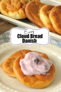 Easy Cloud Bread Danish with Yogurt Recipe