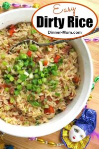 Easy Dirty Rice Pin