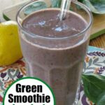 Green smoothie for kids pin