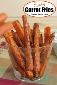 Easy Carrot Fries Pin