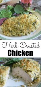 Herb Crusted Chicken Pin