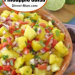 Easy Pineapple Salsa Pinterest