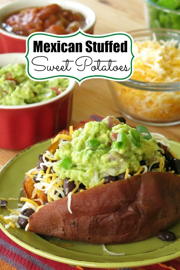 Mexican Stuffed Sweet Potatoes Pin
